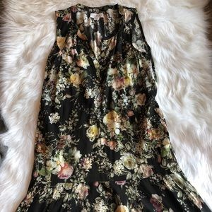 Velvet graham & spencer dress xs viscose floral